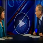 Ginger Katz with Bill O'Reilly