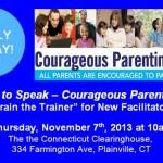 Courage to Speak - Courageous Parenting 101 Facilitator Training