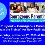 Courage to Speak - Courageous Parenting 101 Facilitator Training